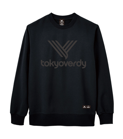 ALTERNATIVE LOGO SWEAT TRAINER(ブラックブラック)