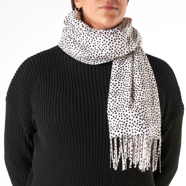 Dot Blizzard Scarf