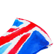 3 layer reusable British flag face mask with Union Jack pattern sasmask by screen and shield