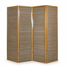 Bamboo Room Divider - 4 Panel