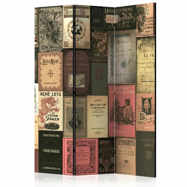 Books Room Divider - 3 Panel
