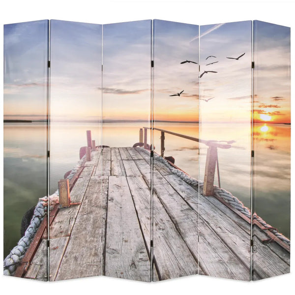 Sunset Room Divider Screen - 6 Panel