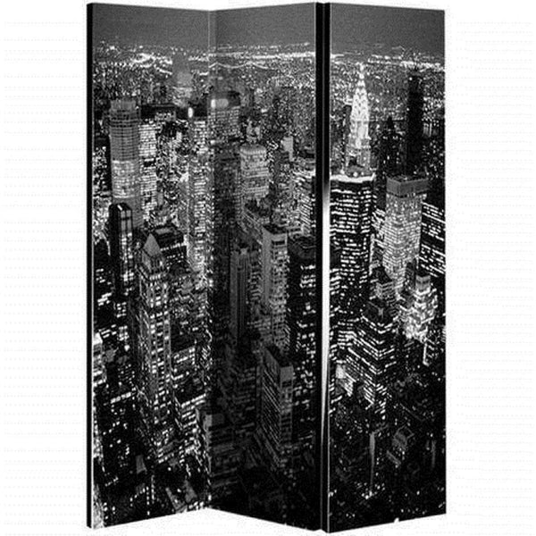 3 Panel - New York Room Divider Screen