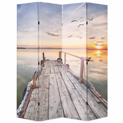 Sunset Room Divider Screen - 4 Panel