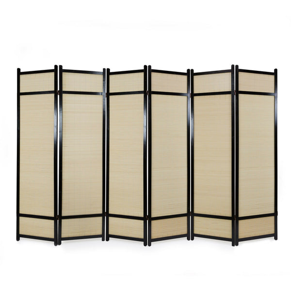 Deco Wooden Room Divider Screen - 6 Panels