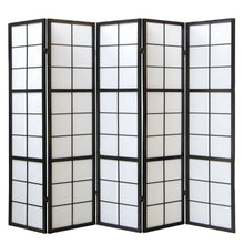 Window Shoji Room Divider Screen - 5 Panel