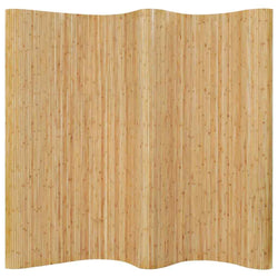 2.5 Meter Tall Bamboo Room Divider - Natural