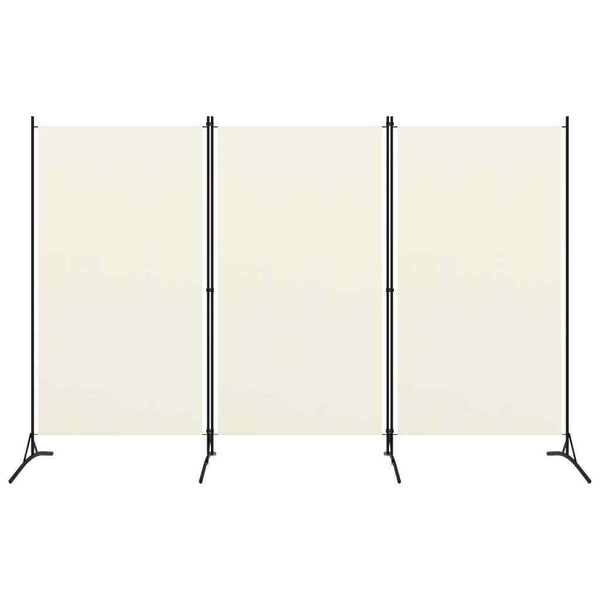 Bonilla Room Divider Screen - 3 Panel - White