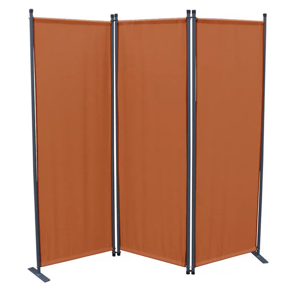 Karalis Room Divider Screen - 3 Panel - Terra