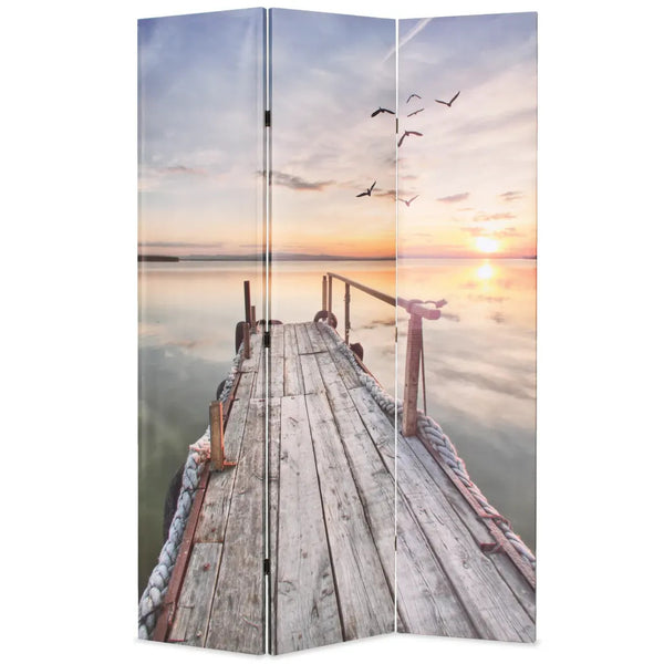 Sunset Room Divider Screen - 3 Panel
