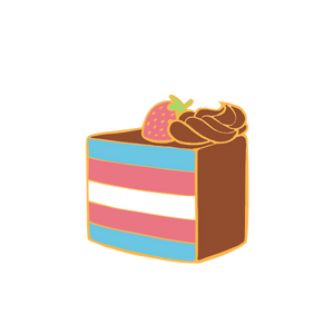 PIN | Chocolate Trans Pride Cake