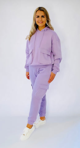 Lilac 2pc Tracksuit
