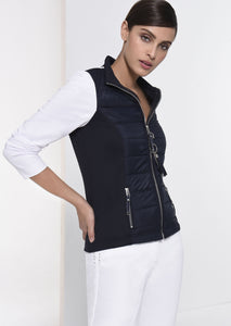 I`Cona 67054-690 Navy & White Jacket