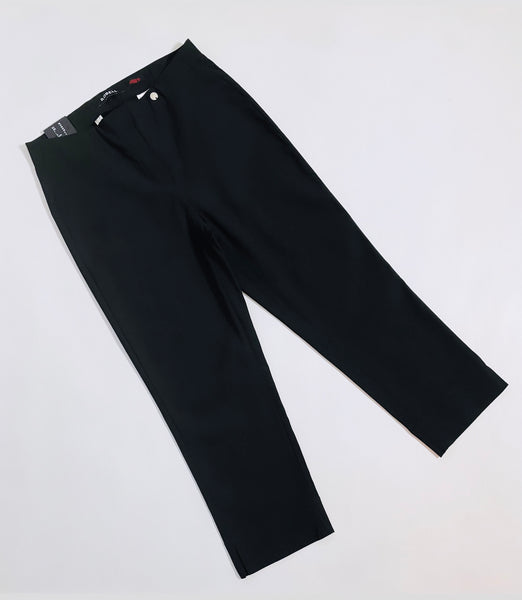 Robell Rose Black Capri 51636-90