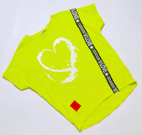 Nadia Lime Love Top