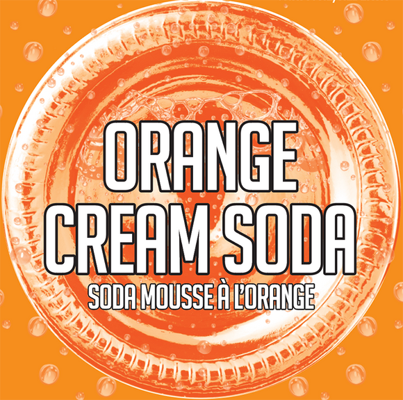 Orange Cream Soda (6 x 355ml Cans)