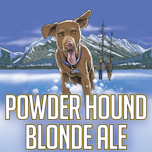 Powder Hound Blonde Ale (6 x 355ml Cans)