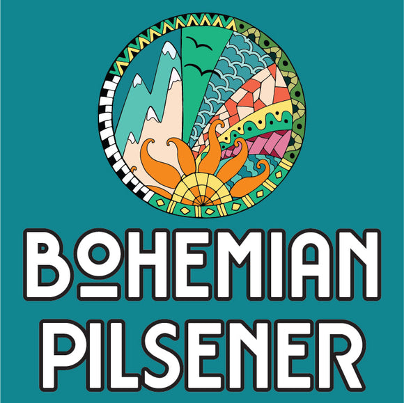 Bohemian Pilsener (4 x 473ml Cans) *SEASONAL*