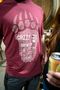 Men's Grizzly Paw Tee