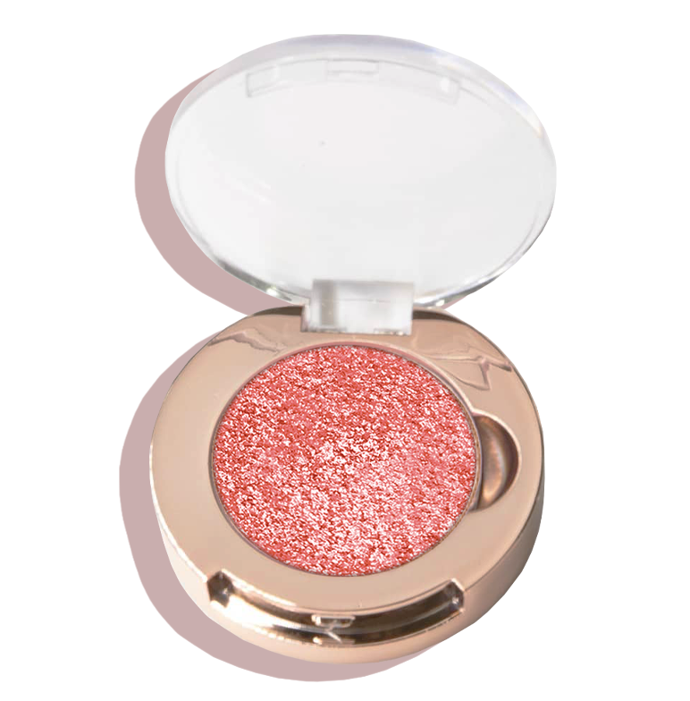 MINI EYE & CHEEK HIGHLIGHTER | CORAL GAZE - pillowbeauty