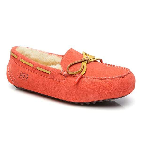 UGG Moccasin Premium Slippers Dark Pink AU/US 4L - EU 35 - UGG Direct