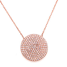 Load image into Gallery viewer, Plated Pave Pendant