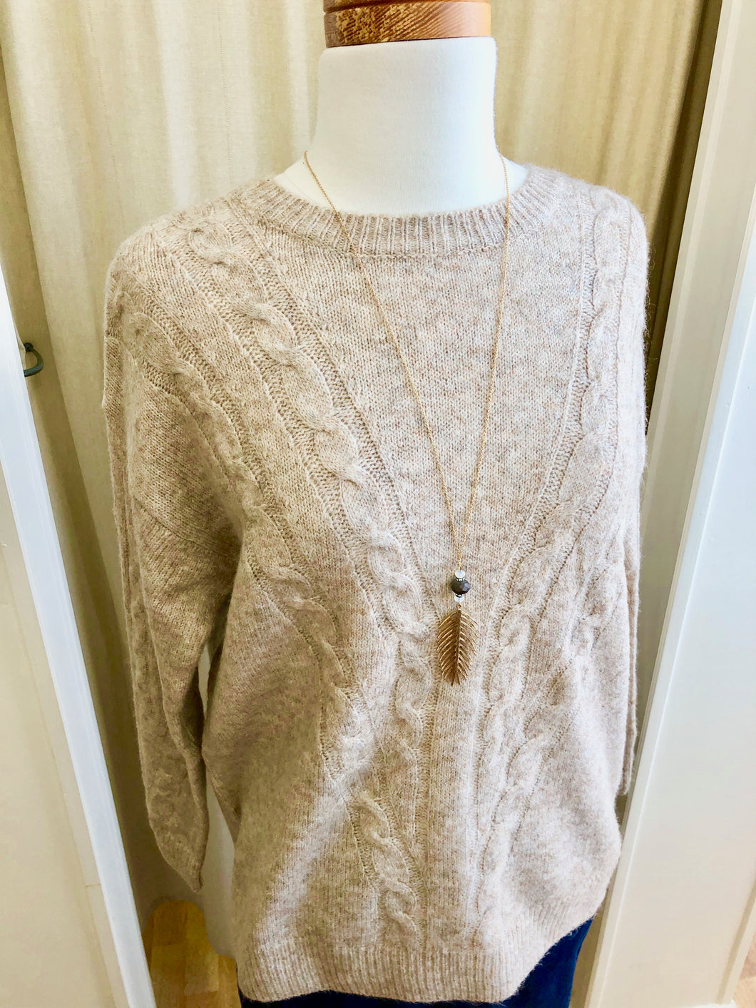 Molly Cable Sweater