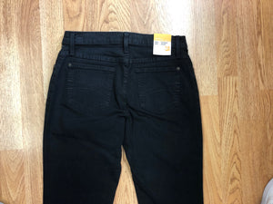 Second Yoga Jeans: BLACK Straight Leg
