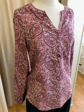 Load image into Gallery viewer, Paisley Pink Blouse