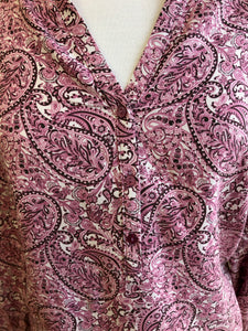 Paisley Pink Blouse
