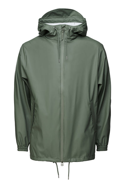 'Rains' Waterproof Jacket: OLIVE