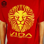 TEE 'VIDA LIONFACE RED'