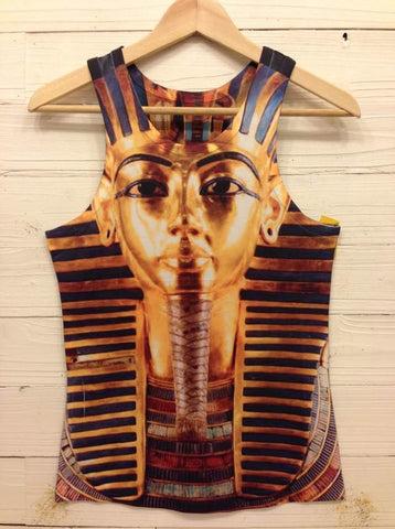 PHARAOH GOLD TANK - BLACK