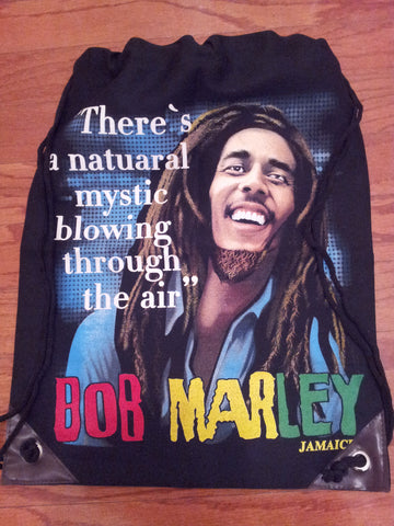 Bob Marley - Natural Mystic Cinch Bag