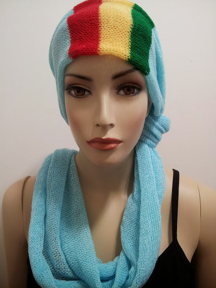 NEW Turquoise, Unisex Scarf/Head-Wear