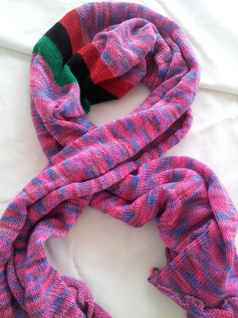 Multi-colored, Unisex Scarf
