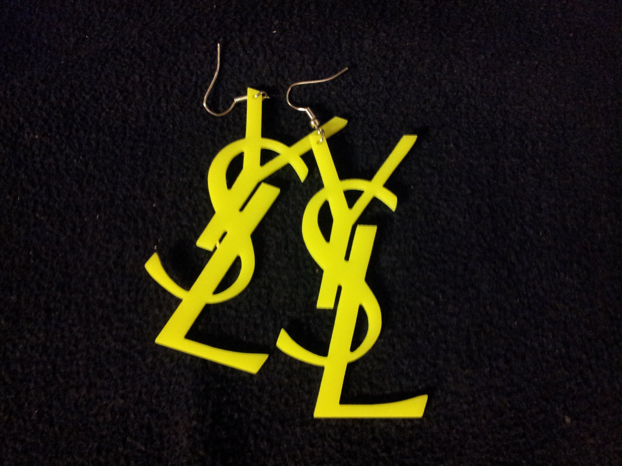 WOMEN'S YELLOW NEON DROP EARRING