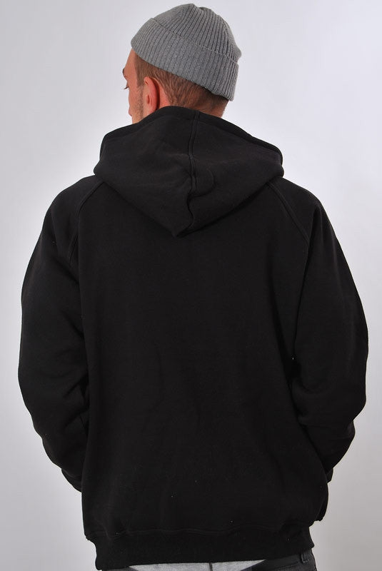RUN TINGS, Hooded Sweater [BLACK]