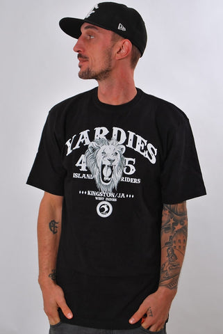 YARD, ISLAND RIDER MC, T-SHIRT [BLACK]