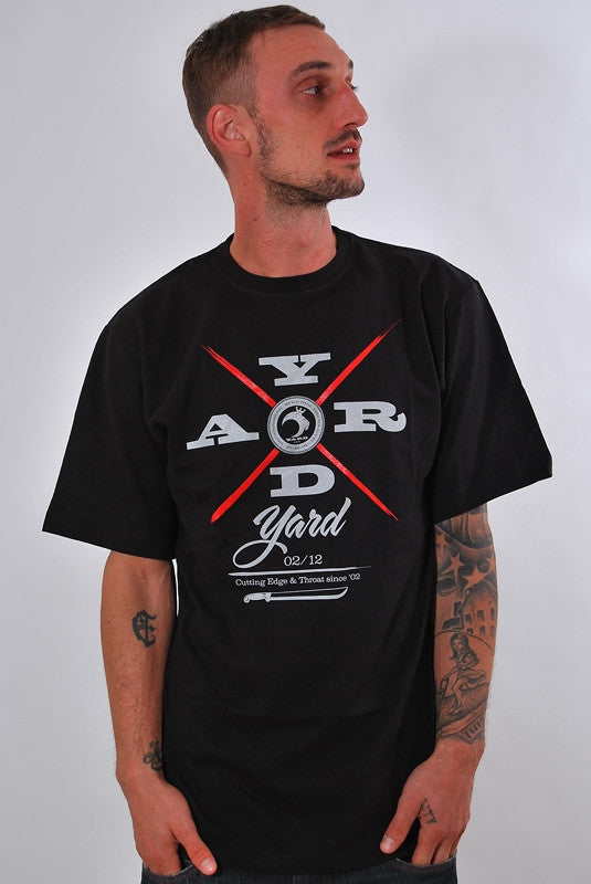 CUTTING EDGE, T-SHIRT [BLACK]