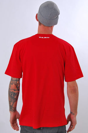 YARD, RUDE BWOY, T-SHIRT [RED]