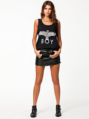 BOY LONDON SILVER EAGLE TANK [BLACK/SILVER]