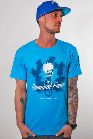 YARD, Carnival Fever , T-Shirt, Men, Caribbean blue