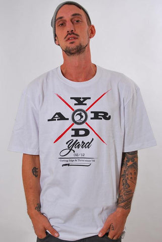 YARD, CUTTING EDGE, T-SHIRT [WHITE]