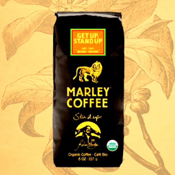 GET UP, STAND UP, MARLEY COFFEE, ORGANIC, 8-OUNCE