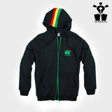 HOODED SWEAT 'LION OF JUDAH' BLACK