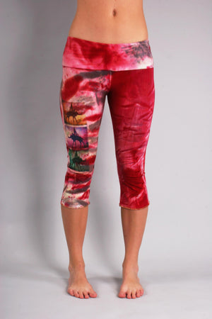 Bashment Yoga  Capri Leggings