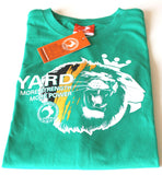 YARD LIBERATION T-SHIRT, KELLY GREEN