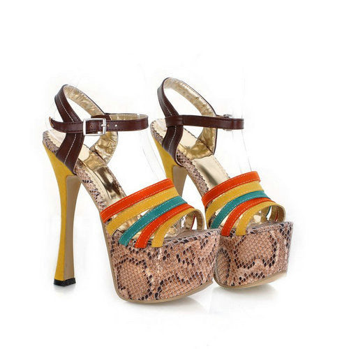 2013, fashion sexy charm of women's yellow high-heeled sandals