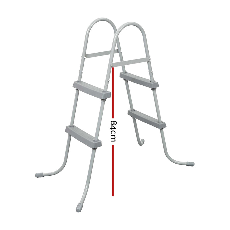 Bestway Ladder Above Ground Swimming Pools 84cm 32 inch Deep Removable Steps